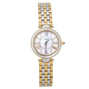 Balmain MOP Two-Tone Stainless Steel Haute Elegance 8072 Women's Wristwatch 27 mm