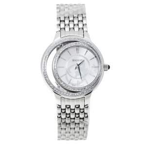 Balmain Silver Stainless Steel Diamond Eclipse 3291 Women's Wristwatch 34 mm