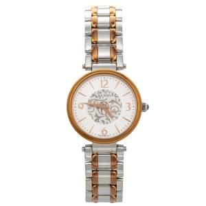 Balmain Silver Two-Tone Stainless Steel Bellafina Mini 1658 Women's Wristwatch 29 mm
