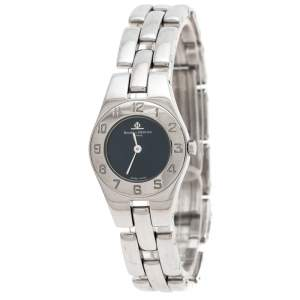 Baume & Mercier Navy Stainless Steel Linea MV045162 Women's Wristwatch 22MM