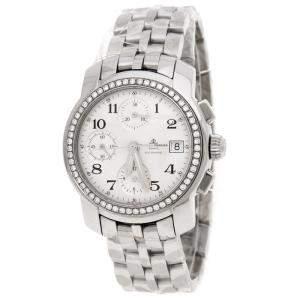 Baume & Mercier White Stainless Steel Diamond Capeland MV045216 Women's Wristwatch 35MM