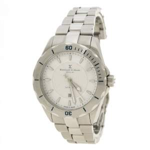 Bernhard H Mayer White Mother of Pearl Stainless Steel Ballad Women's Wristwatch 34 mm