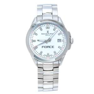 Bernhard H. Mayer White Stainless Steel Force Quantum Women's Wristwatch 35 mm