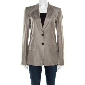Boss By Hugo Boss Grey Tailored Juicyda Blazer S