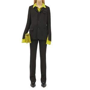 Bottega Veneta Black Tailored Trousers Size 45