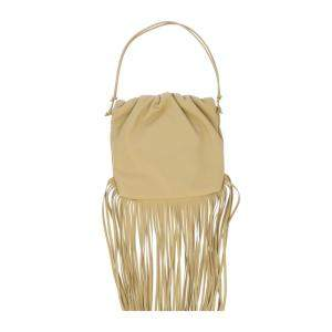 Bottega Veneta Beige Leather The Fringe Pouch Shoulder Bag