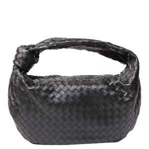 حقيبة هوبو بوتيغا فينتيا بي في جودي جلد أسود