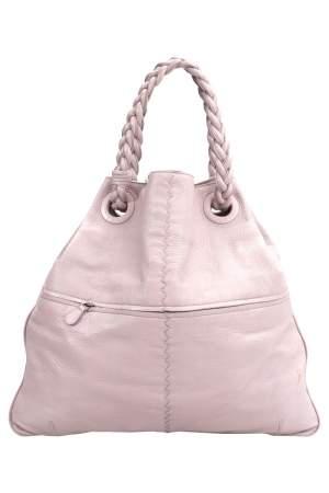 حقيبة يد بوتيغا فينيتا جولي جلد وردية فاتحة