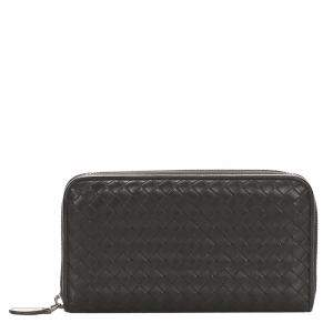 Bottega Veneta Black Leather   Wallets