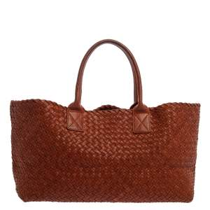 Bottega Veneta Cinnamon Stick Woven Leather Medium Limited Edition 180/500 Cabat Tote