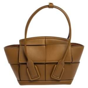 حقيبة بوتيغا فينيتا ميني أكرو جلد أخضر سي ويتد