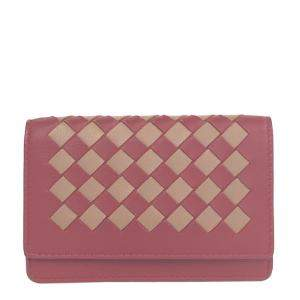 Bottega Veneta Red Leather   Wallets