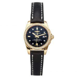 Breitling Black Diamonds 18K Rose Gold Galactic H7234853/BE86 Women's Wristwatch 29 MM