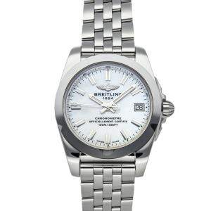 Breitling MOP Stainless Steel Galactic W7433012/A779 Women's Wristwatch 36 MM