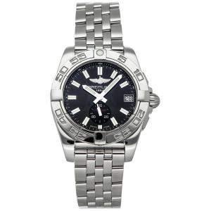 ساعة يد نسائية برتلينغ غلاكتيك أيه3733012/ بي أيه77 ستانلس ستيل سوداء 36مم