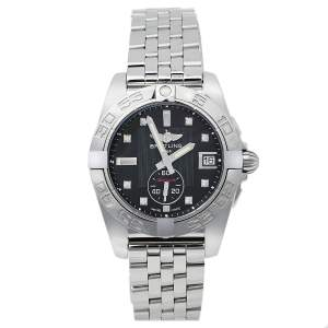 ساعة يد رجالية بريتلينغ غالاكتيك A37330 ستانلس ستيل ألماس سوداء 36مم