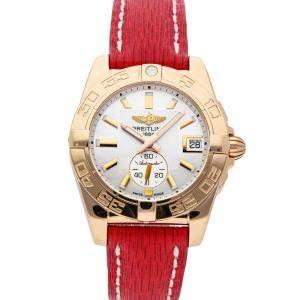 Breitling MOP 18K Rose Gold Galactic H3733012/A724 Women's Wristwatch 36 MM