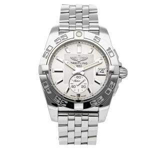 Breitling Silver Stainless Steel Galactic A37330121G1A1 Women's Wristwatch 36 MM