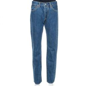 Burberry Blue Denim Farndon Straight Leg Jeans M