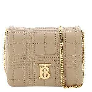 Burberry Brown Lola Chain Micro Bag