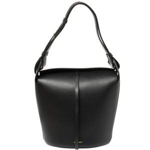 Burberry Black Medium Bucket Bag