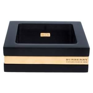 Burberry Black Anson Square Bangle Bracelet