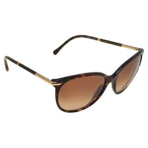Burberry Brown Havana/ Brown Gradient B4186 Cat Eye Sunglasses