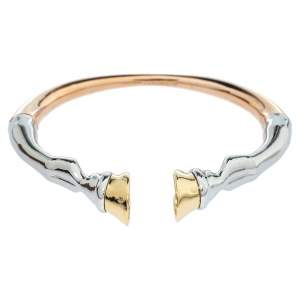 Burberry Three Tone Hoof Cuff Bracelet S