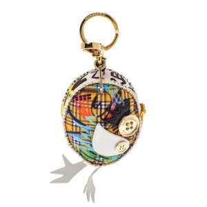 Burberry Multicolor Derek The Bird Key Charm