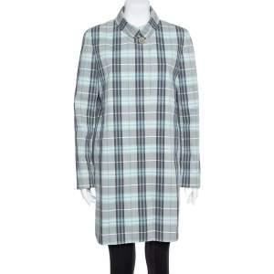 معطف بربري لندن نوفاتشيك قدم أزرق مقاس متوسط - ميديوم