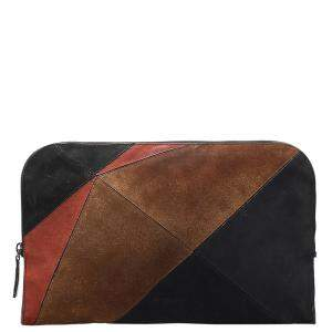 Burberry Brown Suede Clutch