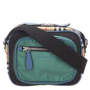 Burberry Multicolor Canvas Crossbody Bag