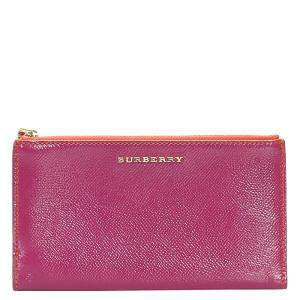 Burberry Pink Leather Pouch