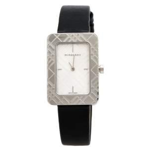 Burberry Silver Stainless Steel Classic BU1150 Women's Wristwatch 25 mm