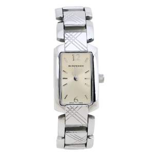 Burberry Champagne Stainless Steel Signature BU4212 Women's Wristwatch 18MM