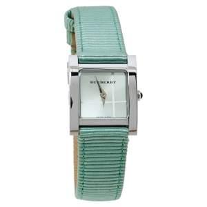 Burberry Green Stainless Steel BU4308 Women's Wristwatch 22MM