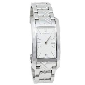 Burberry Silver Stainless Steel BU1090 Quartz Women's Wristwatch 25 mm