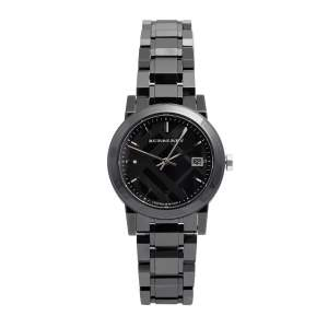 Burberry Black Ceramic BU9181 Women's Wristwatch 34 mm