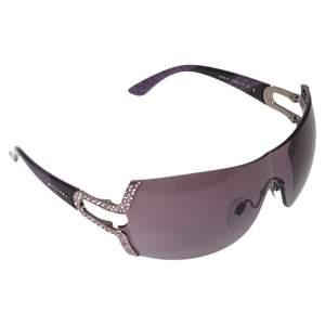 نظارة شمسية بلغاري 6038-B حلية بارينتيسي شيلد أسيتات بنفسجي