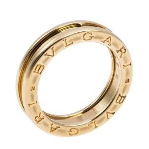 Bvlgari B.zero1 One-Band 18K Yellow Gold Ring 56
