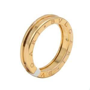 Bvlgari Yellow Gold B.Zero1 Ring Size 63