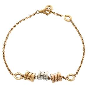 Bvlgari B.zero1 18K Three Tone Gold Element Soft Bracelet