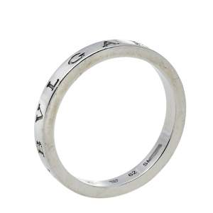 Bvlgari Bvlgari Platinum Band Ring Size 62