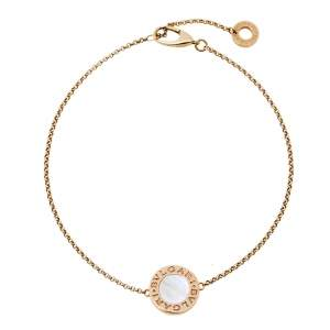Bvlgari Bvlgari Mother of Pearl 18K Rose Gold Bracelet