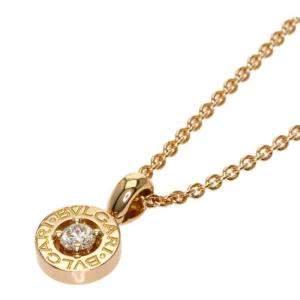 Bvlgari 18K Rose Gold Diamond Necklace