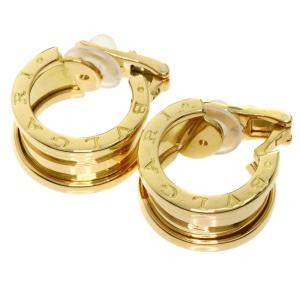 Bvlgari 18K Yellow Gold B-Zero1 Earrings