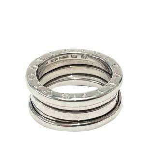 Bvlgari 18K White Gold B.Zero1 3 Band Ring Size EU 50