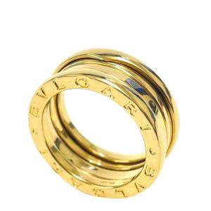 Bvlgari 18K Yellow Gold B.Zero1 3 Band Ring Size EU 52
