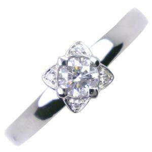 Bvlgari Didicata a Venezia Platinum Diamond Ring Size EU 49