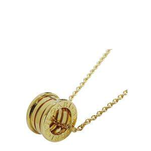 Bvlgari B.Zero1 18K Yellow Gold Necklace